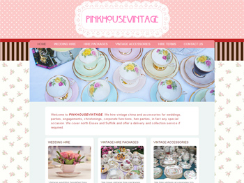 Vintage China Hire Colchester