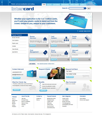 Plastic Cards by Intercard